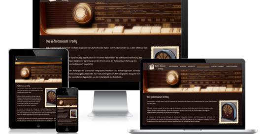 Projekt Radiomuseum Grödig Pixelstudio Webdesign Hallein