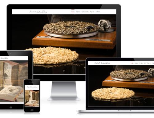 Website für den Künstler & Bildhauer Norbert Zuckerstätter