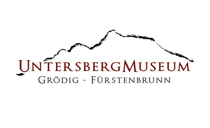 Logo Erstellung Untersbergmuseum Grödig Fürstenbrunn Pixelstudio Hallein