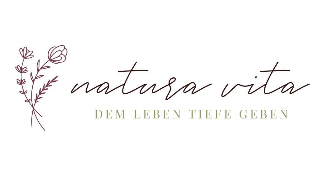 Logo Natura Vita - Pixelstudio Hallein