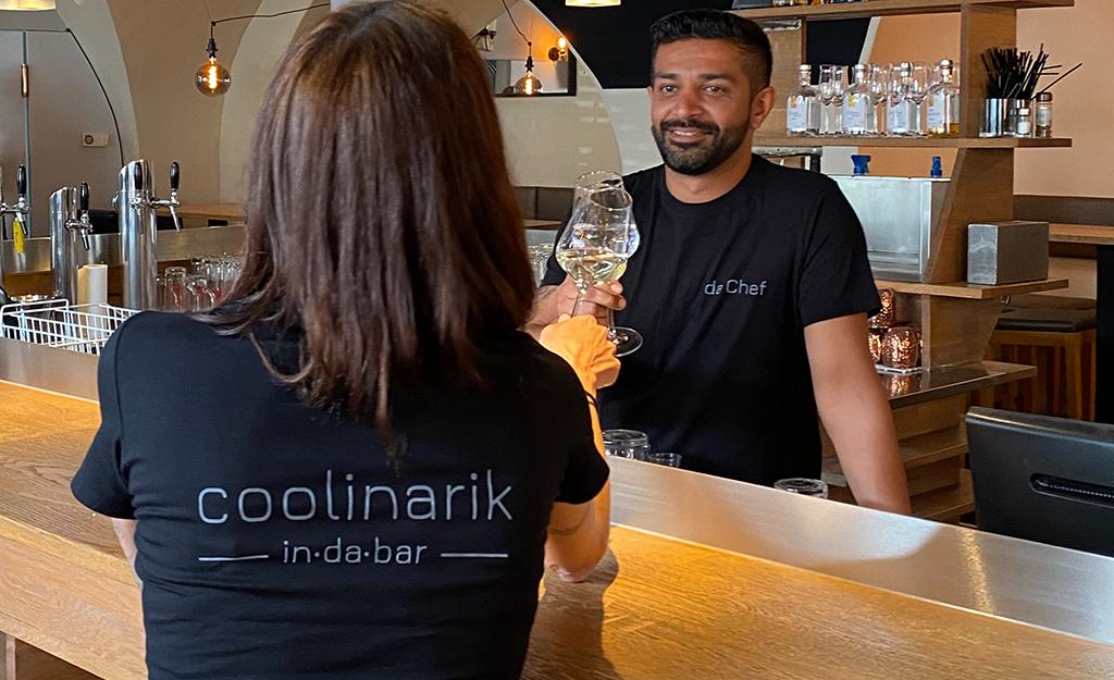 T-Shirt Design: coolinarik in da bar - Hallein